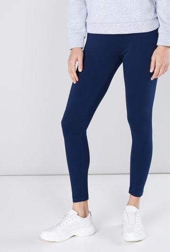 Full Length Leggings Regular Fit with Elasticised Waistband