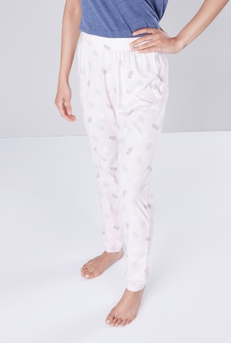 Printed Pyjama with Elasticated Waist