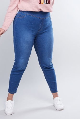 Skinny Fit Denim Jeggings