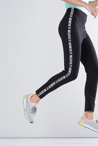 Full Length Leggings with Side Prints