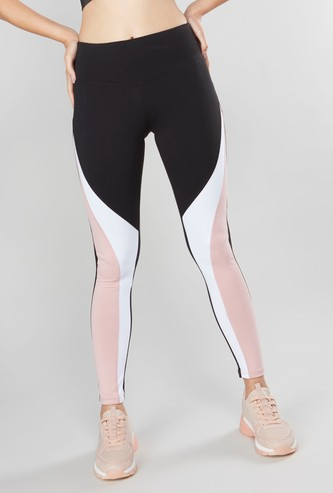 Panelled Full Length Leggings