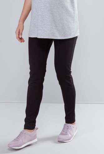Maternity Ponte Leggings with Elasticised Waistband