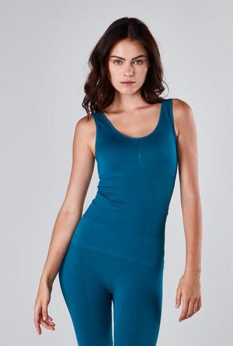 Plain Sleeveless Shaping Vest