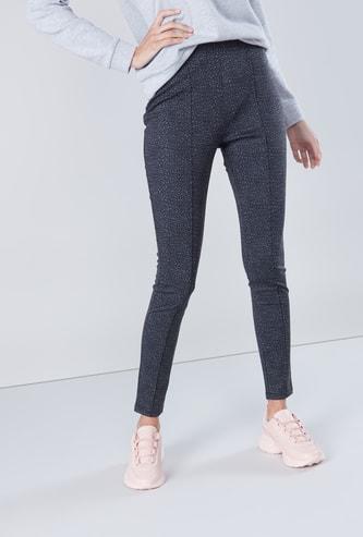 Animal Printed Full Length Leggings
