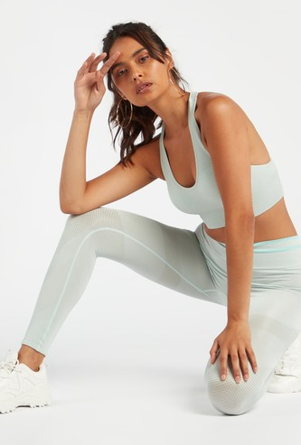 Full Length Seamless Leggings with Elasticated Waistband