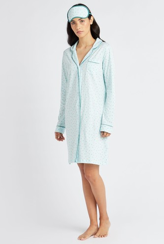 Gift Pack - Printed 3-Piece Sleepshirt Set