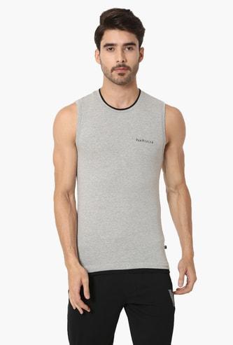VAN HEUSEN Solid Cotton Innerwear Vest
