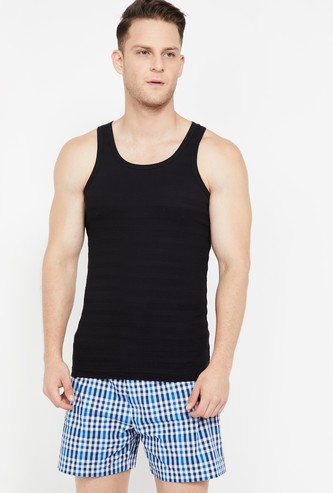 CHROMOZOME Striped Knitted Vest