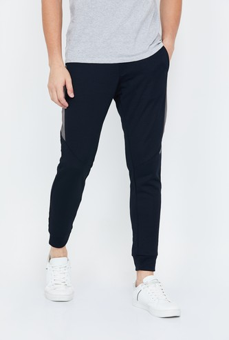 PROLINE Panelled Knitted Joggers