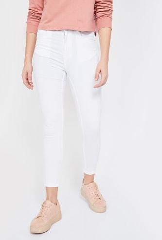 GINGER Solid Slim Fit Jeans