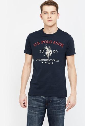 U.S. POLO ASSN. Graphic Print Regular Fit T-shirt