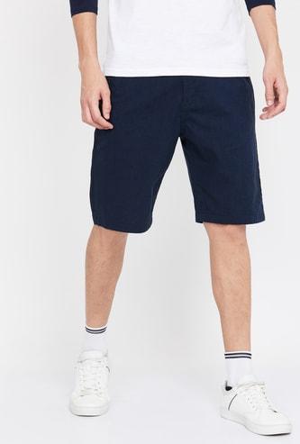 UCLA Men Solid Regular Fit City Shorts