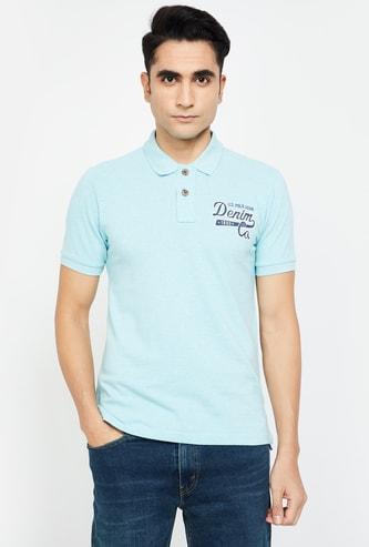 U.S. POLO ASSN. Printed Regular Fit Polo T-shirt