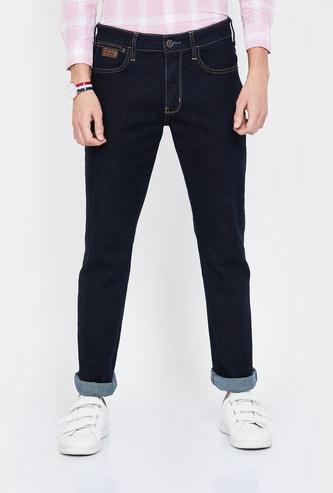 WRANGLER Solid Slim Fit Jeans