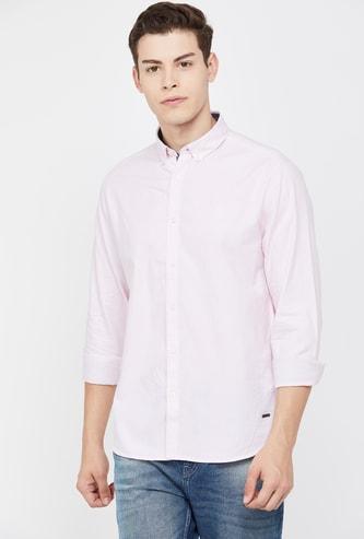 BOSSINI Virobar Men Solid Regular Fit Casual Shirt