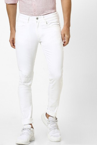 CELIO Solid Skinny Fit Jeans