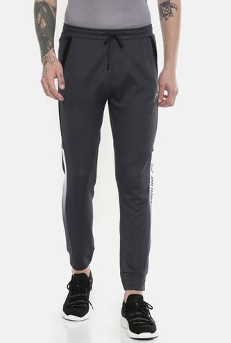 PROLINE Men Solid Regular Fit Joggers with Slant Pockets