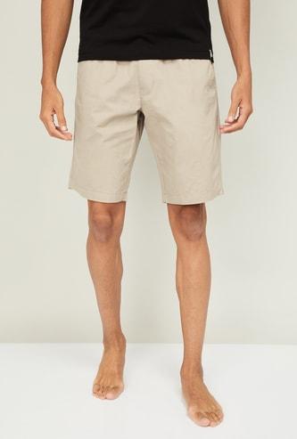 JOCKEY Men Solid Elasticated Shorts