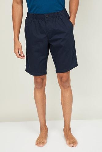 JOCKEY Men Solid Elasticated Lounge Shorts