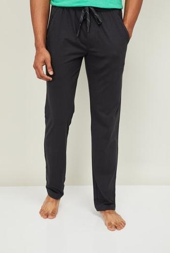 JOCKEY Men Solid Slim Fit Lounge Track Pants