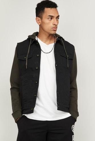 BOSSINI Men Solid Full Sleeves Casual Jacket