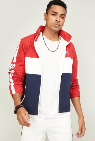 LEVI'S Men Colourblocked Hooded Jacket