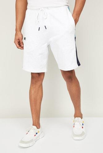 KAPPA Men Colourblocked Drawstring Waist Shorts