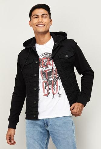 BOSSINI Men Printed Full Sleeves Casual Jacket