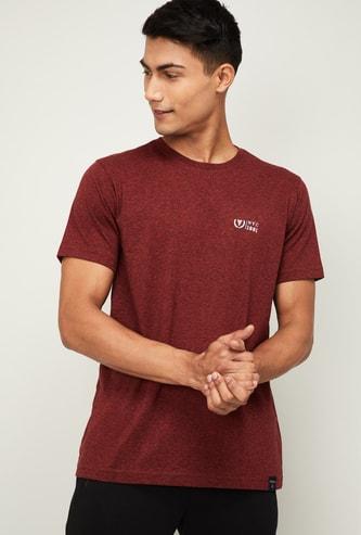 VAN HEUSEN Men Solid Crew Neck Lounge T-shirt