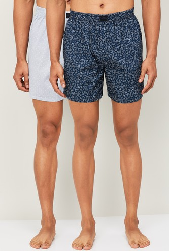 FAME FOREVER Men Printed Boxers- Pack of 2