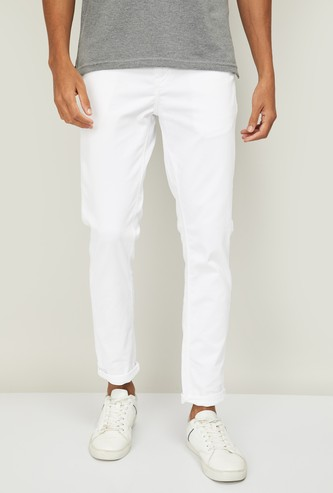 UNITED COLORS OF BENETTON Men Solid Skinny Fit Jeans