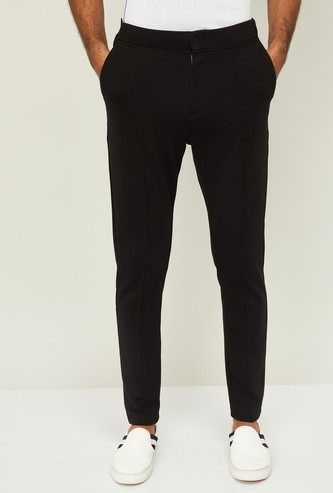 PROLINE Men Solid Elasticated Track Pants