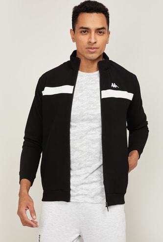 KAPPA Men Striped Casual Jacket
