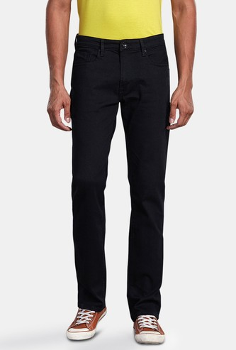 PEPE JEANS Men Solid Regular Tapered Fit Jeans