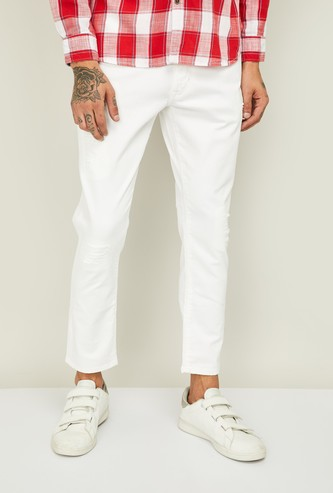 U.S. POLO ASSN Men Solid Slim Tapered Jeans