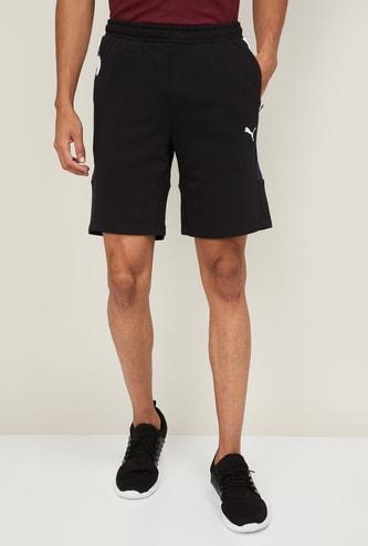 PUMA Men Colourblocked Regular Fit Sports Shorts