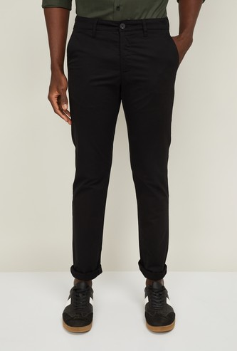 VH SPORTS Men Solid Casual Trousers