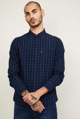 LEVI'S Men Checked Full Sleeves Regular Fit Casual Shirt