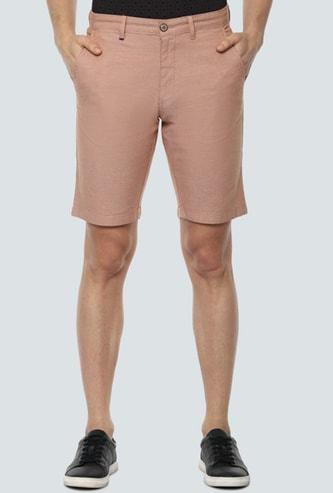 LP SPORT Men Textured Woven Shorts