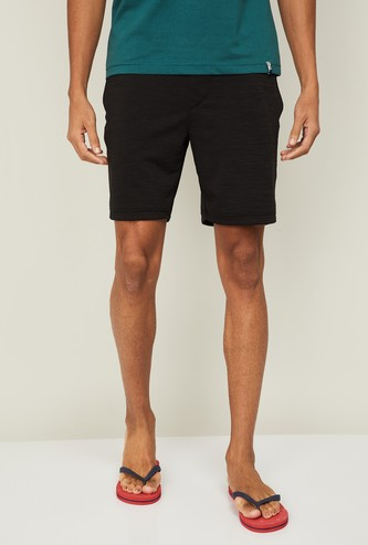 JOCKEY Men Textured Lounge Shorts
