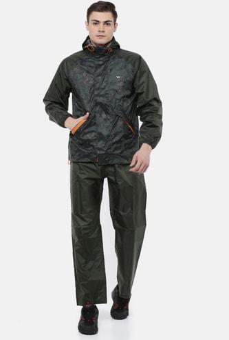 WILDCRAFT Men Two Tone Printed Rain Suit