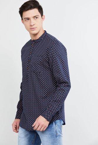 MAX Printed Regular Fit Shirt Kurta