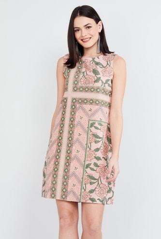MAX Printed Mini Dress