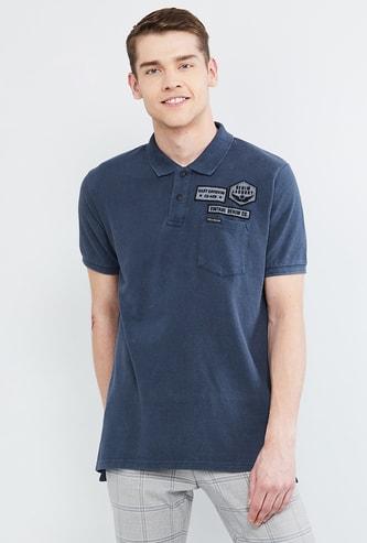 MAX Appliqued Polo T-shirt