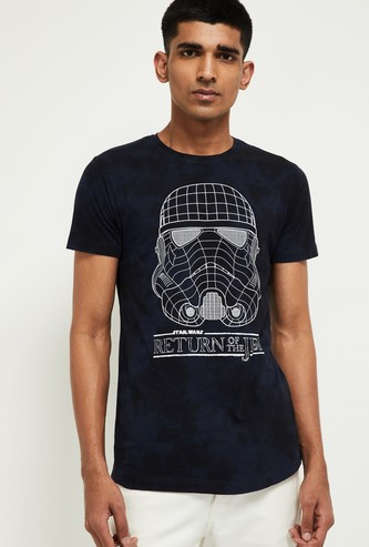 MAX Star Wars Print Dyed T-shirt
