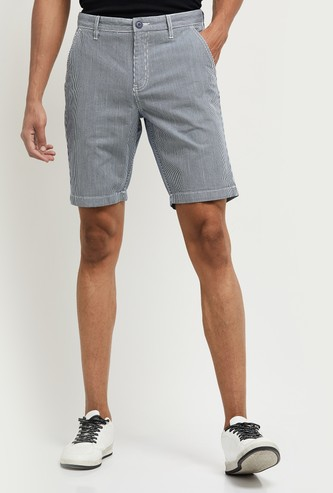 MAX Striped Woven Shorts