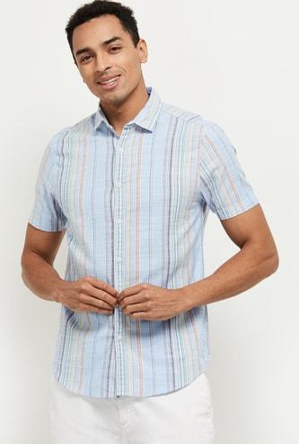 MAX Striped Slim Fit Casual Shirt