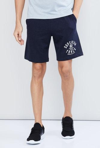 MAX Printed Shorts with Drawstring Waist