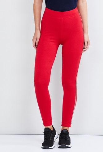 MAX Solid Knitted Sports Pants