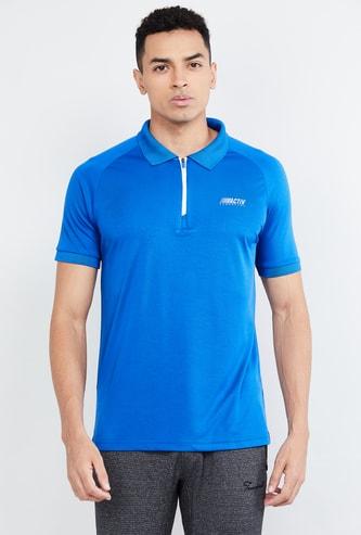 MAX Freshon & Neudri by N9 Solid Sports Polo T-shirt